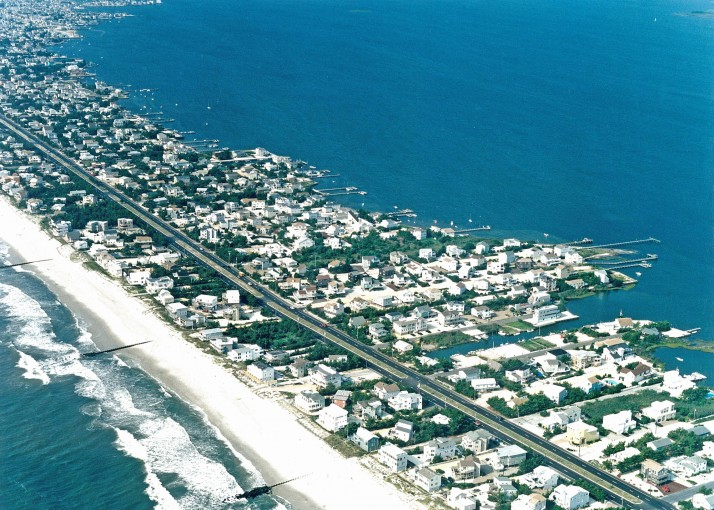 Lbi New Jersey North Beach Aerial