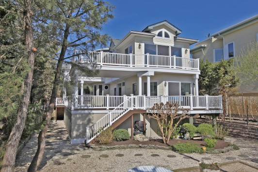 Oceanfront with Pool in Barnegat Light